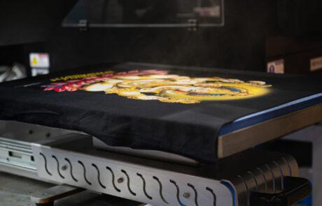 Tshirt Print Closeup