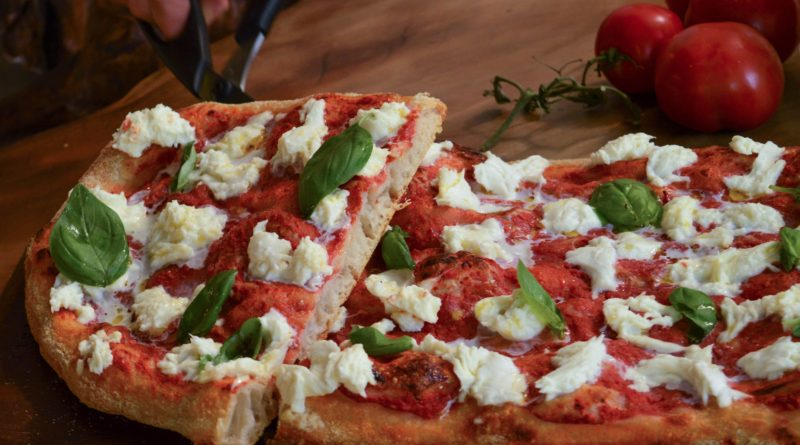 Pizza romana no Eataly