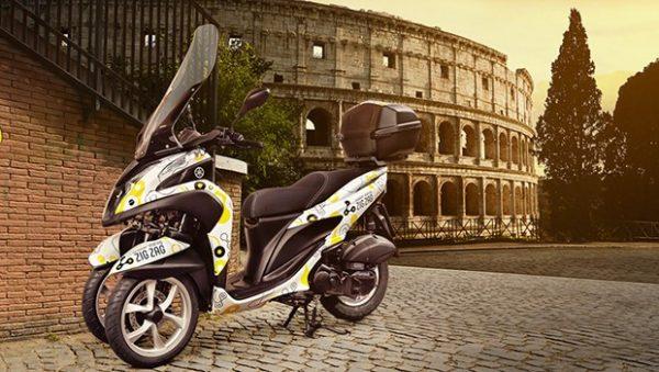 scooter em roma