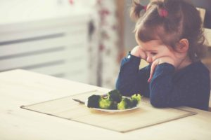 Why children don't like to eat vegetables and how to get them to start