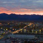 Anchorage at dawn, Anchorage Alaska, Guy Sagi, Raeford, Hoke County, North Carolina