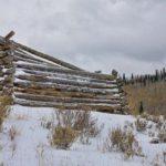 Abandoned log cabin, Guy Sagi, Cabin in Colorado, Raeford, Hoke County, North Carolina