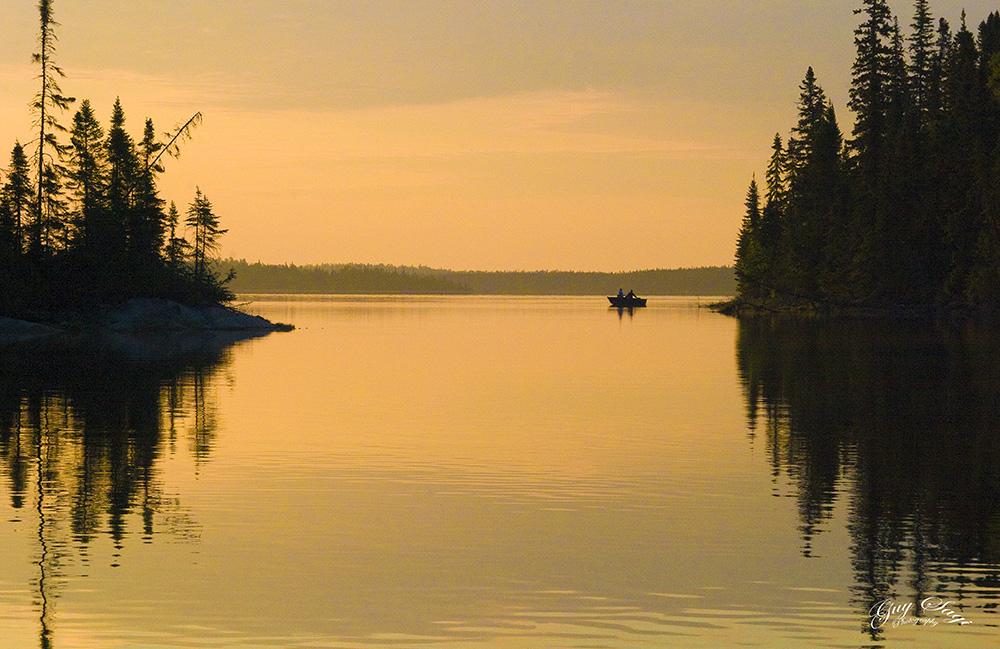 Fishing in Canada, Guy Sagi