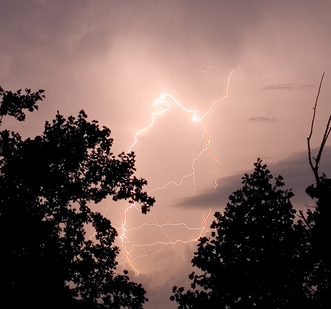 Lightning on the Blue Ridge, Guy Sagi