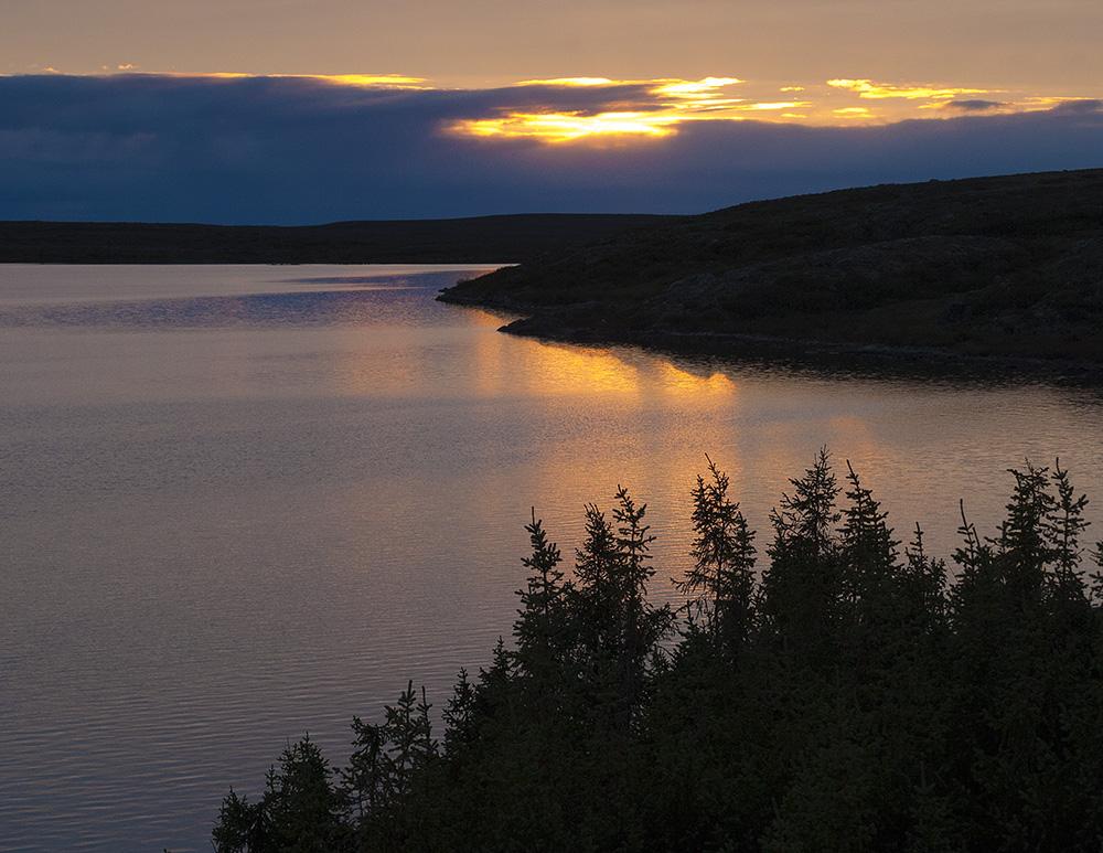 Quebec sunset, Guy Sagi