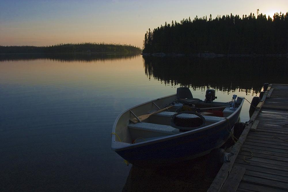 Boat on the dock, Guy Sagi