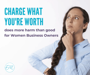 charge what you're worth