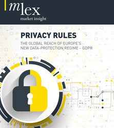 Privacy Rules, The Global Reach of Europe's New Data Protection Regime – GDPR