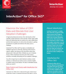 InterAction® for Office 365®