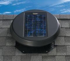 Get solar powered roof or attic fan for improved efficiency in Florida by Affordable Roofing