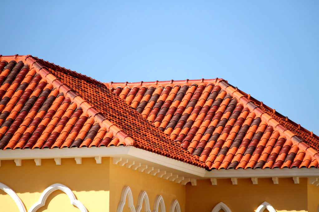 Steep roof tile types, styles and colors