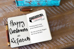 Affordable Roofing loves Referrals