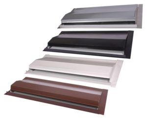 Affordable Roofing offers Off Ridge Roof Vents in various colors
