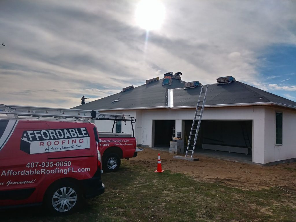 New roof construction for home or business in Florida
