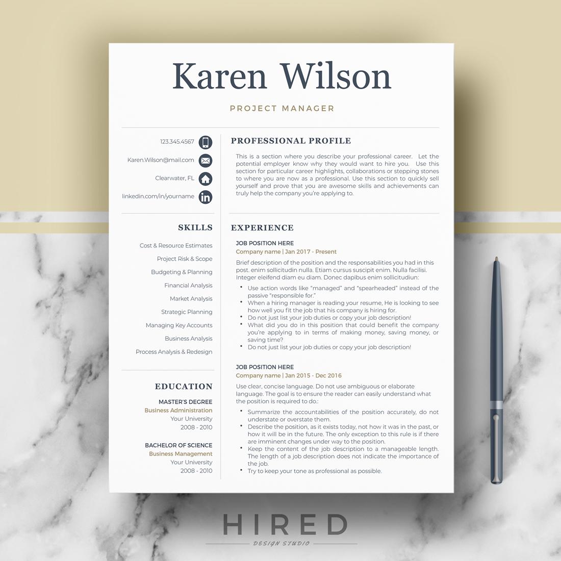 """""""Karen Wilson"""""""