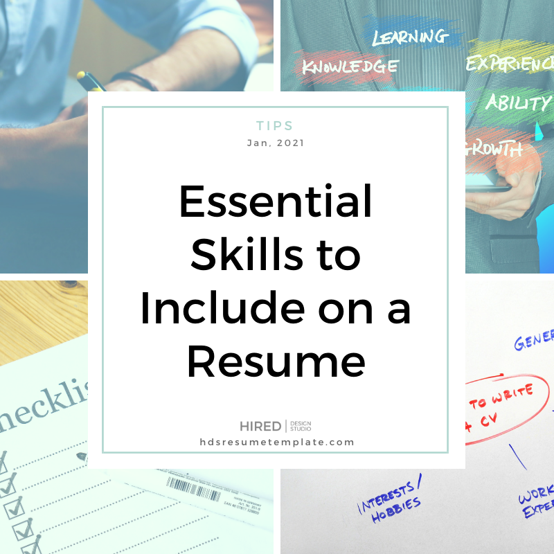 Essential Skills to Include on a Resume
