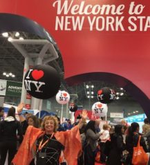 Dr. Sue New York Times Travel Show 2019