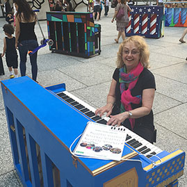 Dr. Sue Dr. Sue Dance Flurry Piano Sing for Hope
