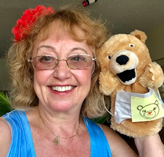 Dr. Sue Teddly Bear Puppet