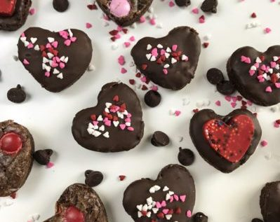 Valentines Day Dessert Menu Brownies