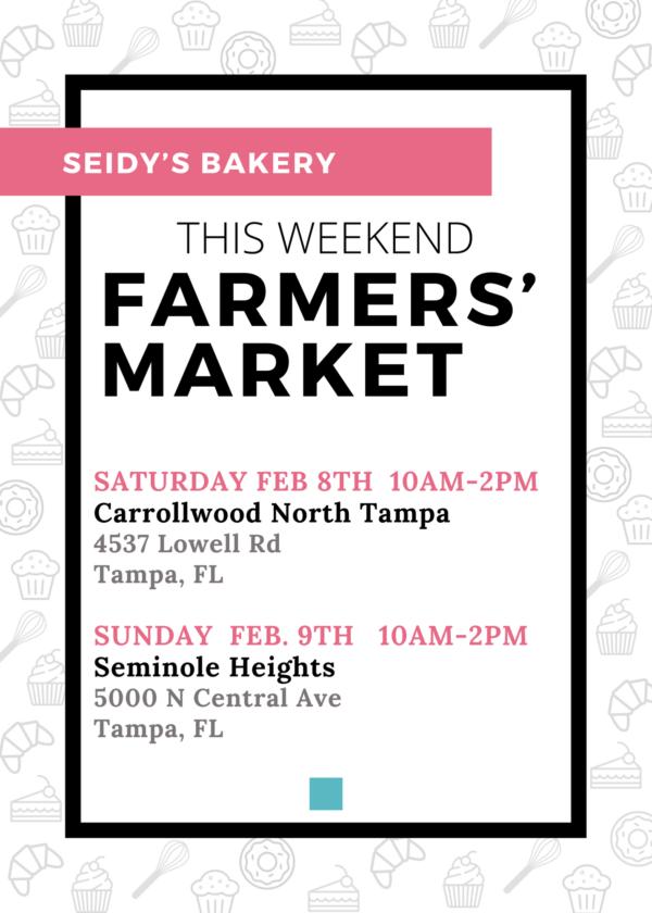 Tampa Bay Farmers' Market Seidy's Bakery