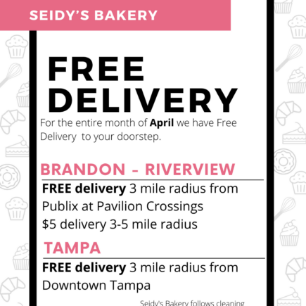 Free Dessert Delivery Tampa