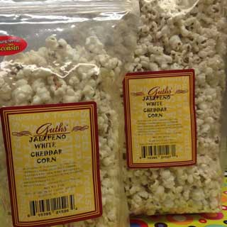 Jalepeno White Cheddar Corn Guths Candy