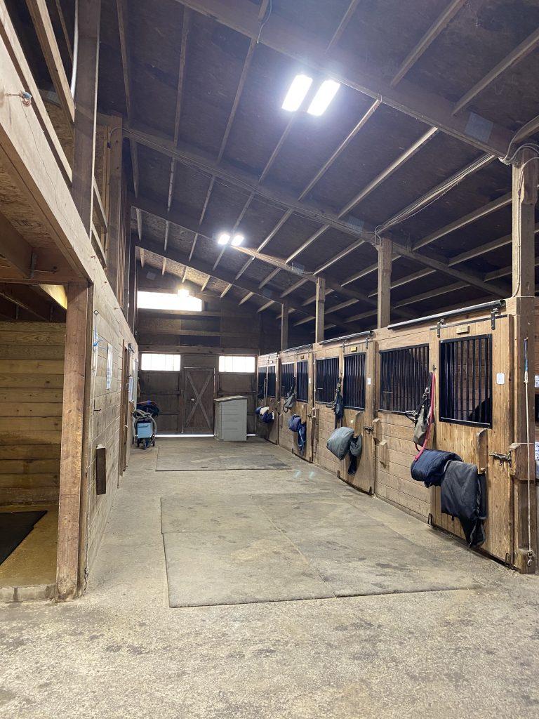 Back Bay Farm has 29 total stalls