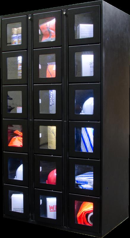 SnapVend standard locker