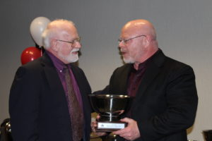 Ted Cahall receives Regional Executive Award