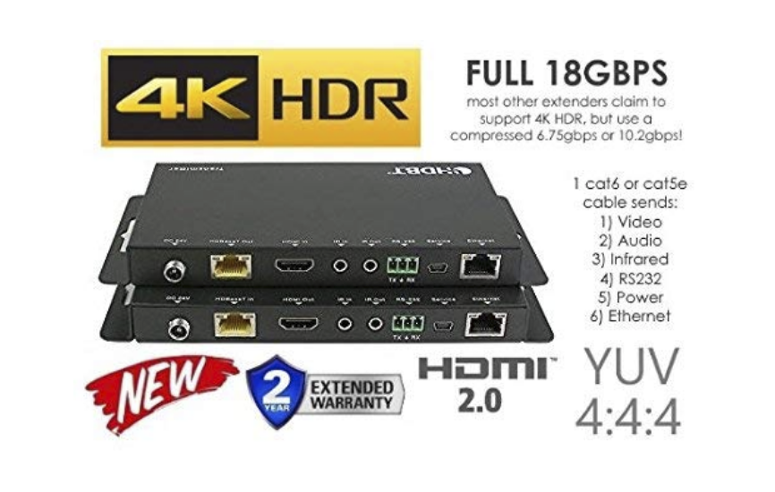 UHD 4K over CAT5 – Solved!