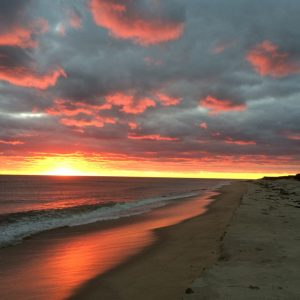 Amazing Sunset on Nantucket