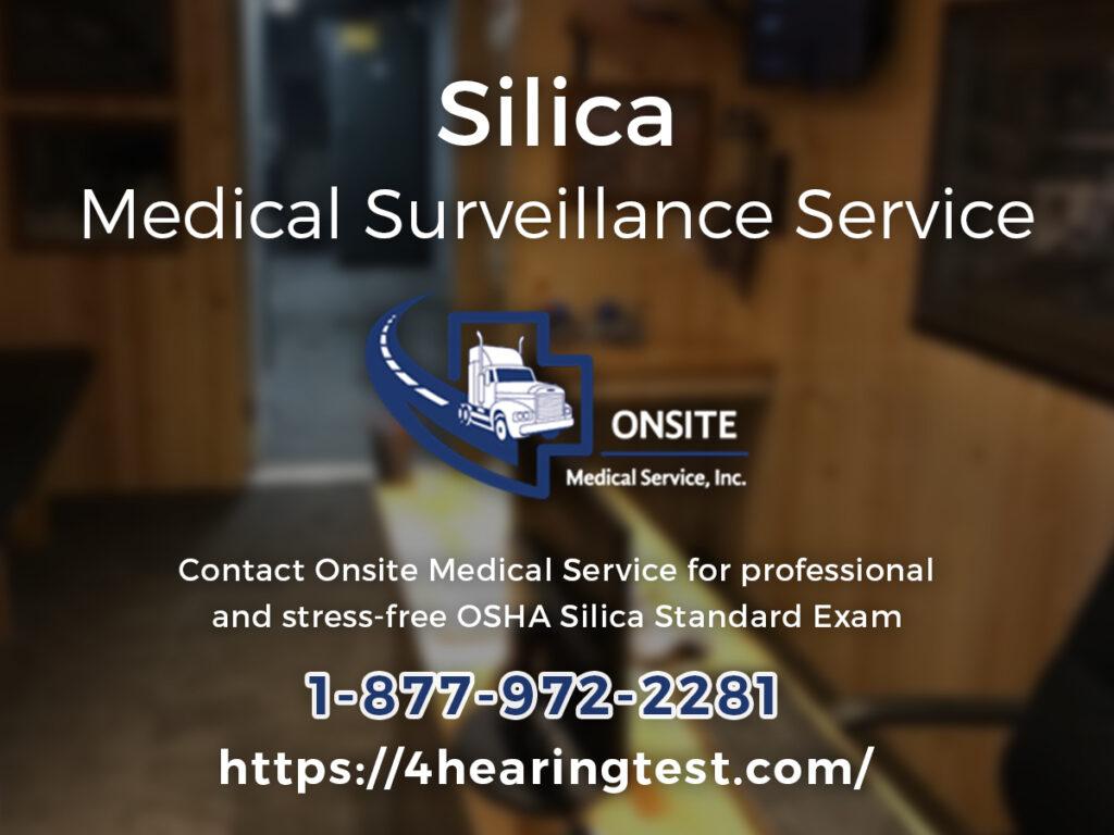 Silica Medical Surveillance Service