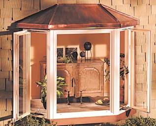 South Bend Replacement Windows, bay window, bow window, picture window, new window, copper roof, south bend window company, window installation south bend