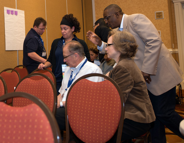 Engaging and observing the presentation attendees to support interactive learning at the 2014 PMI-OC Annual Conference