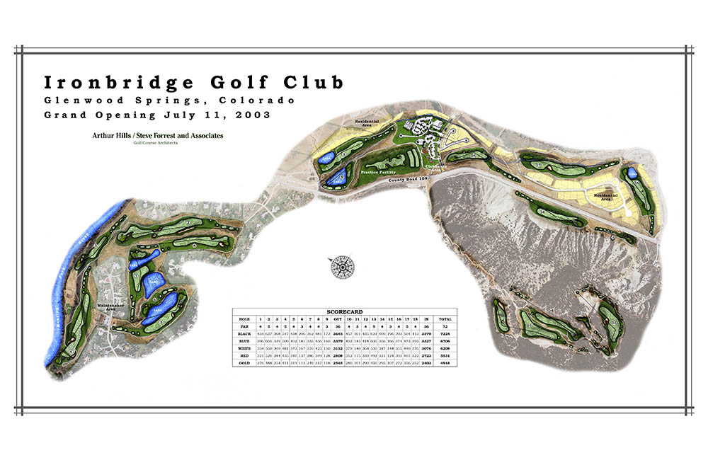 Featured Project Details page – Ironbridge Golf Club
