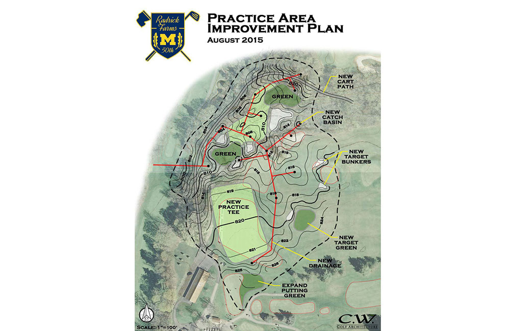 Featured Project Details page – Radrick Farms Practice Facility