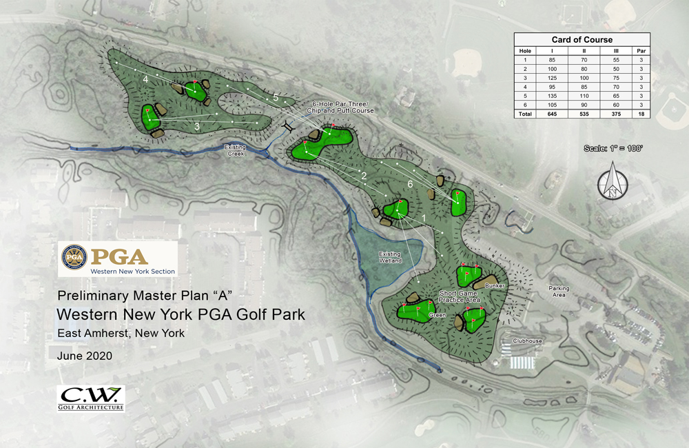 Featured Project Details page – WNYPGA Practice Facility