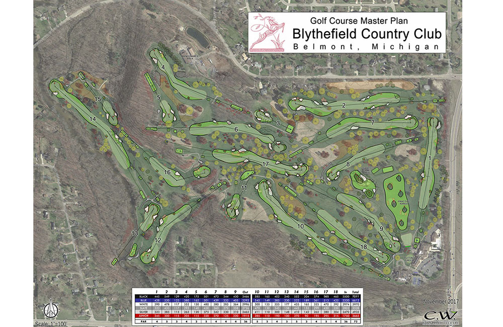 Featured Project Details page – Blythefield Counry Club