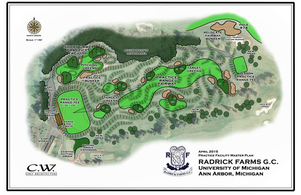 Radrick Farms master plan