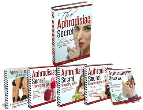 Aphrodisiac Secret Review – Meredith Shirk's eBook a Scam?