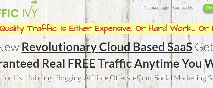 Traffic Ivy Review – trafficivy.com a Scam?