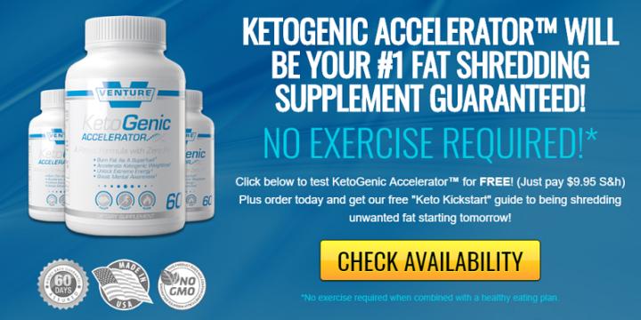 KetoGenic Accelerator Review – venturesupplements.com a Scam?