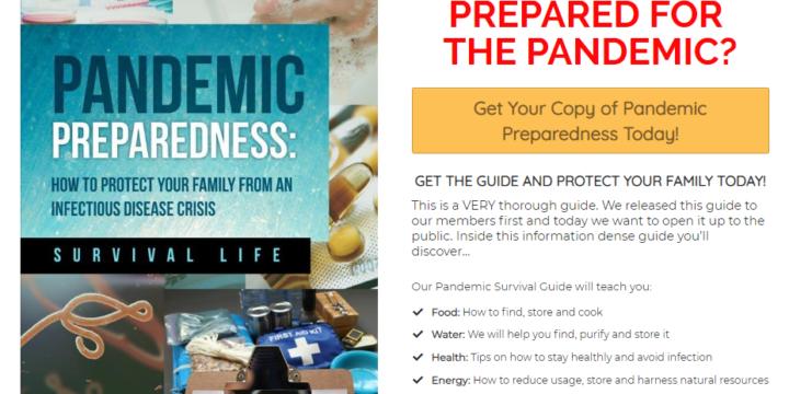 Virus Pandemic Preparedness Guide Review – Works?