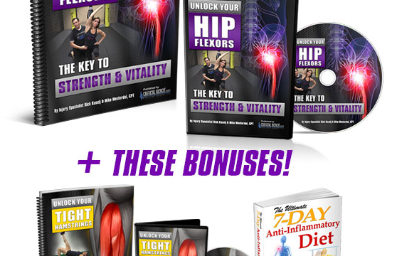 Unlock Your Hip Flexors Review – Revamped Method For 2020 Works?