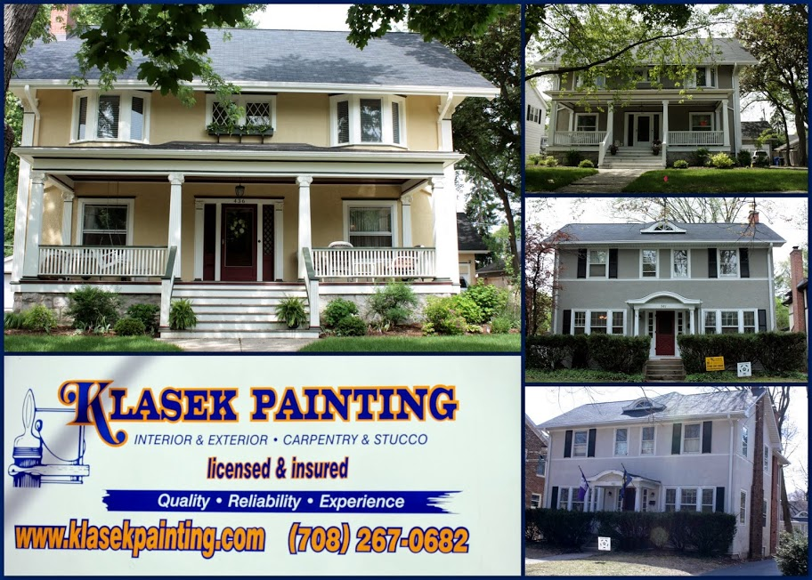 Exterior Stucco Painting La Grange Illinios 60525