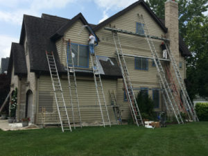 Downers Grove IL exterior painting