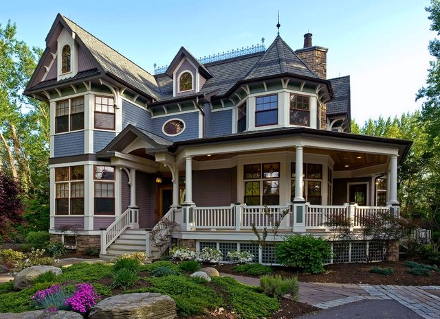 Beautiful Victorian Exterior Paint Colors