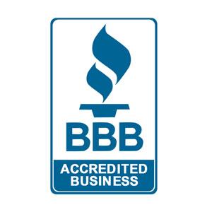 Better Business Bureau Accredited Business badge