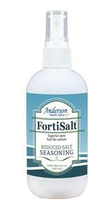 FortiSalt 8oz Reduced Salt product page